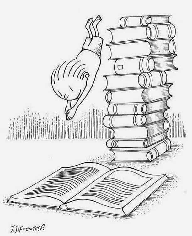 imersão em livros